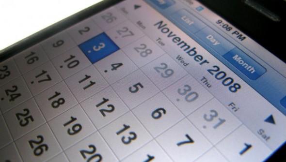 fitness calendar